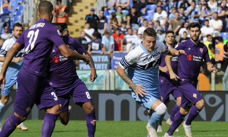 Viola appassita, Lazio vogliosa... ma Milinkovic e Wallace perché giocano?
