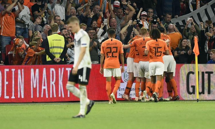 Lezione dell'Olanda alla Germania: 3-0