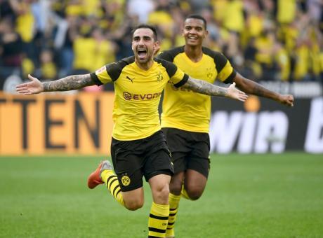 Borussia Dortmund, Paco Alcacer: 'Qua mi sento a casa'
