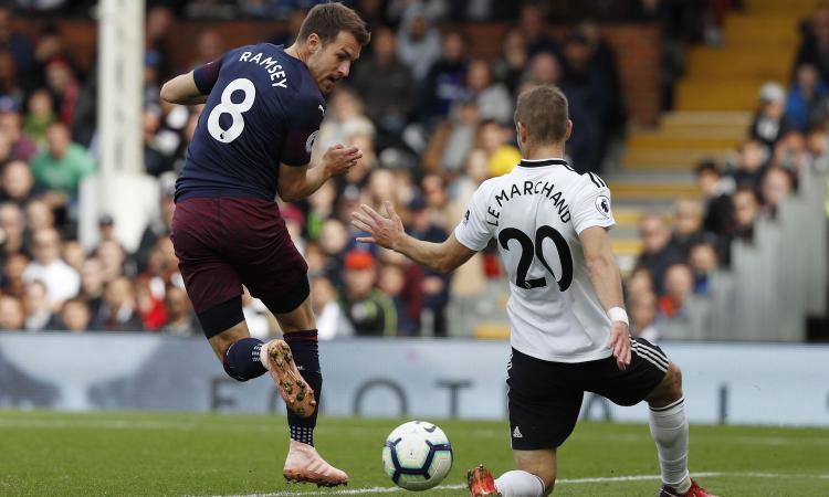 Juve: visite in gran segreto per Ramsey