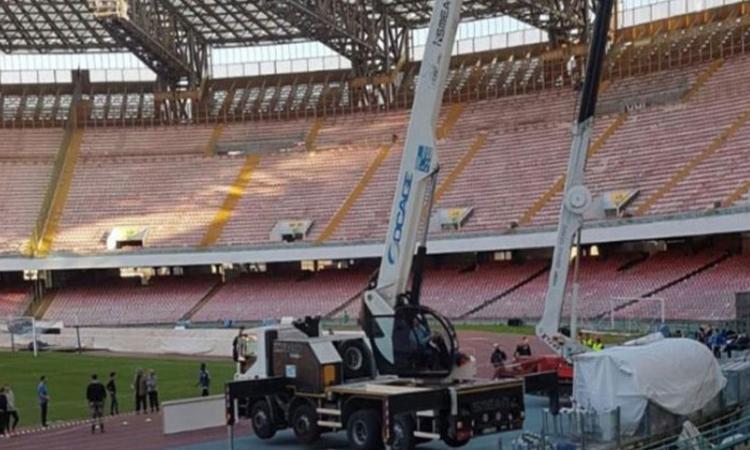 """Napoli, dal Comune: """"Presto un incontro col club per il restyling del San Paolo"""""""