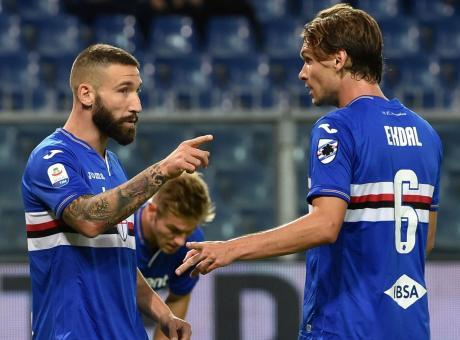 Sampdoria, le pagelle di CM: serataccia Rafael, Ekdal non si ferma mai