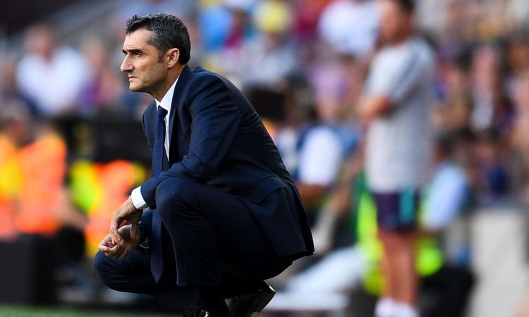 Barcellona: Bartomeu rinnova la fiducia a Valverde