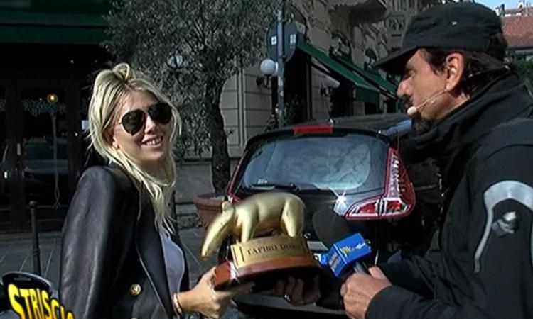 Tapiro d'Oro a Wanda Nara: rischia il carcere per colpa dell'ex Maxi Lopez