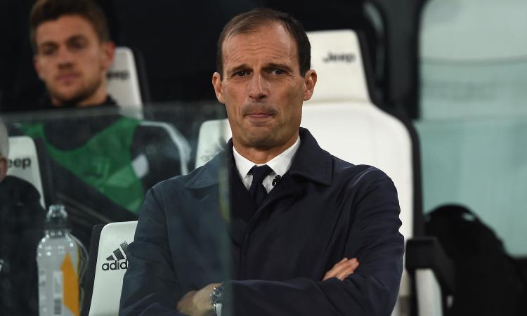 Juve, Allegri: 'Higuain grande acquisto del Milan. Gol subiti? Dormiamo...'
