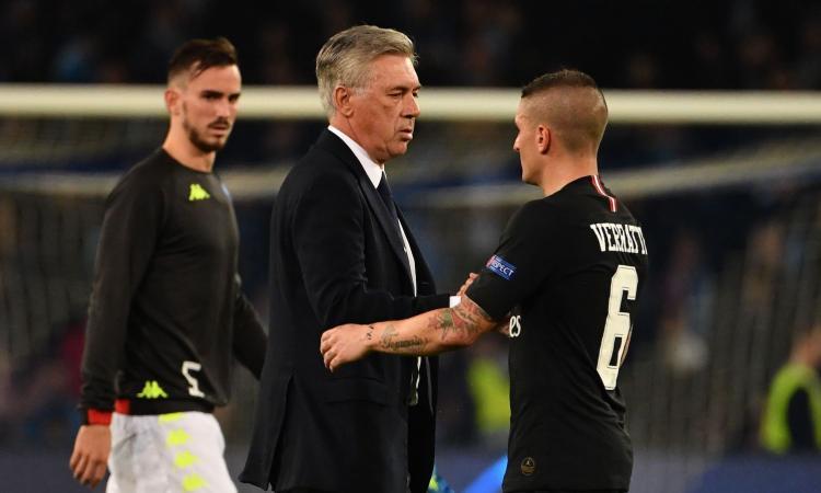 Napoli: festa rimandata per colpa di Buffon, ma Ancelotti è da applausi