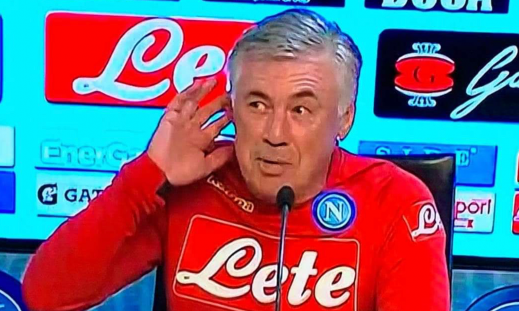 Ancelotti: 'Mertens recuperato. Capisco Mourinho, ha preso 90 minuti di insulti'