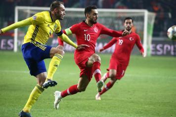 Calhanoglu Turchia capitano Svezia