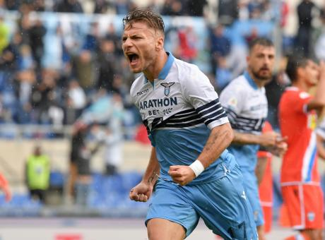 Lazio, il Liverpool su Immobile