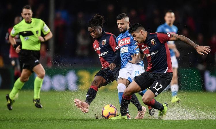 Genoa-Napoli 1-2: il tabellino