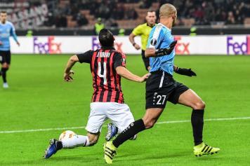 Jose Mauri Milan cade Dudelange