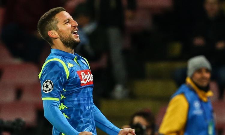 Mertens: 'Napoli è casa, è famiglia. Con Ancelotti siamo più tranquilli, possiamo vincere l'Europa League'