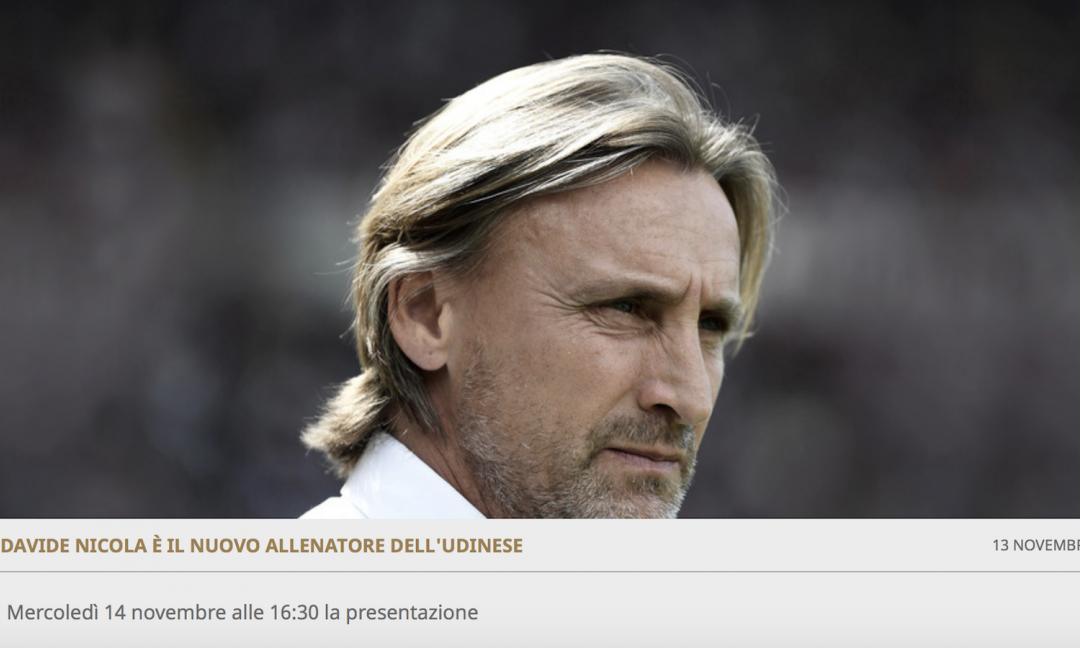 Dopo Guidolin, l'Udinese ha cambiato 9 allenatori