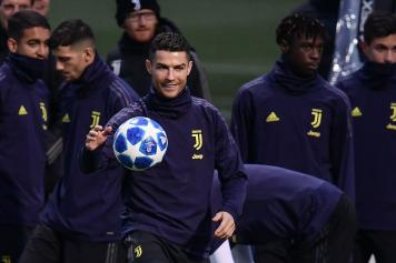 ronaldo praises allegri and says champions league cannot be an