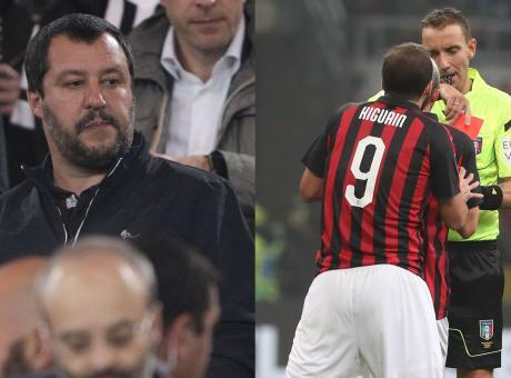 Agli italiani piacciono le sceneggiate alla Higuain, nessuna 'ola' per Salvini