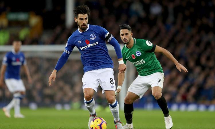 Everton: un centrocampista finisce nel mirino del Liverpool