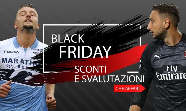 Black Friday: tutte le iniziative delle squadre di Serie A