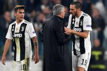 bonucci, juventus, affronta, mourinho, manchester united, 2018/19