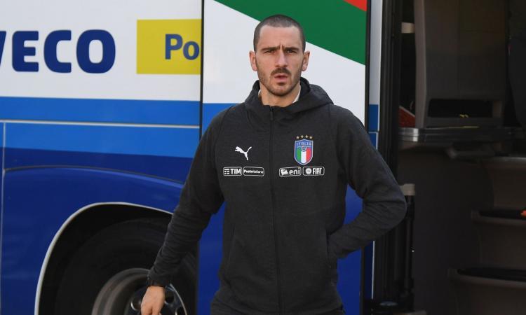 Bonucci: 'La maglia dell'Italia è unica, ogni tanto qualcuno se lo dimentica'