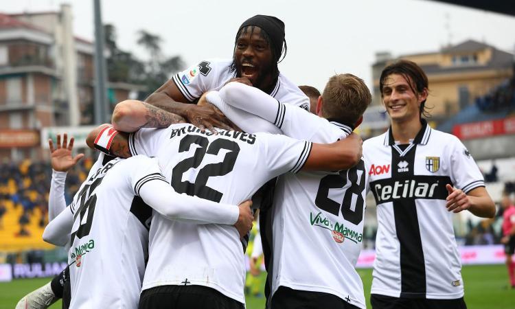 Parma-Roma 2-0: il tabellino