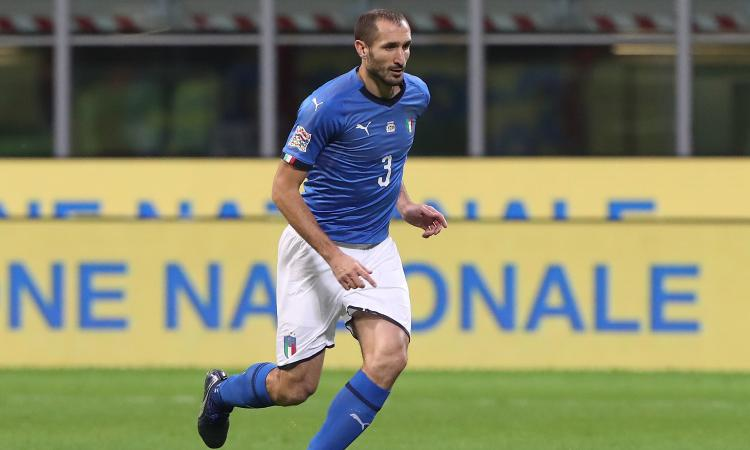 Italia, Chiellini: 'Kean vero bomber. Mancini è un grande allenatore, ma vincere...' VIDEO