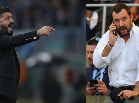Il calcio è molto più serio della politica. Salvini tecnico? Meglio Allegri premier