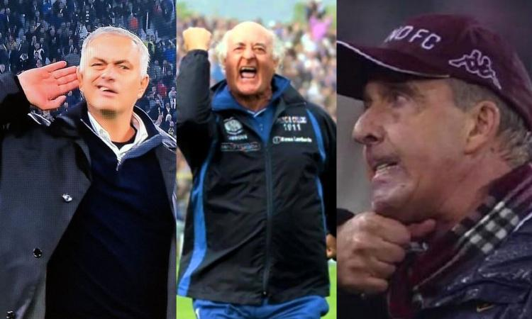 Da Mazzone a Mourinho, da Capello a Ventura: quando i tecnici esagerano