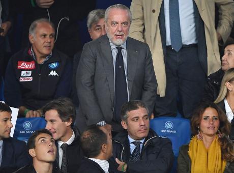 Frasi contro Mazzoleni prima di Inter-Napoli: deferito De Laurentiis