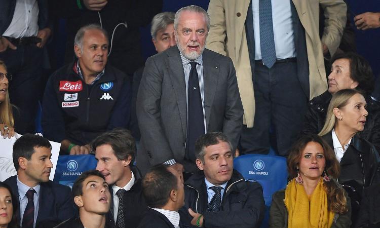 De Laurentiis polemico: 'Bene senza i titolari. Dedico la vittoria a Sandulli...'
