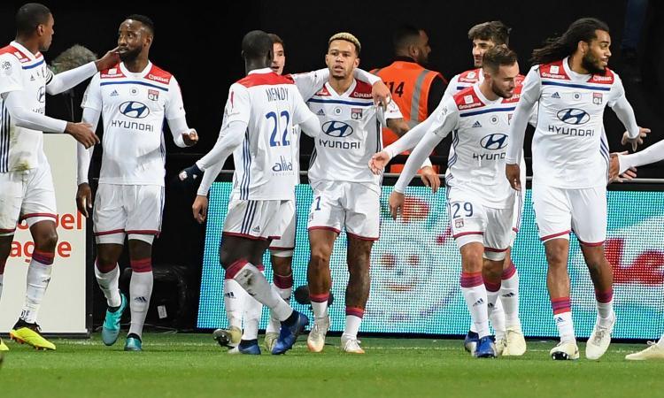 Ligue 1: poker Lione, Montpellier ko. Vincono Nizza e St. Etienne