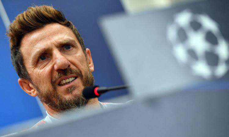 Roma, Di Francesco: 'Schick rotto, Olsen in dubbio. Su Zaniolo e Under...' VIDEO