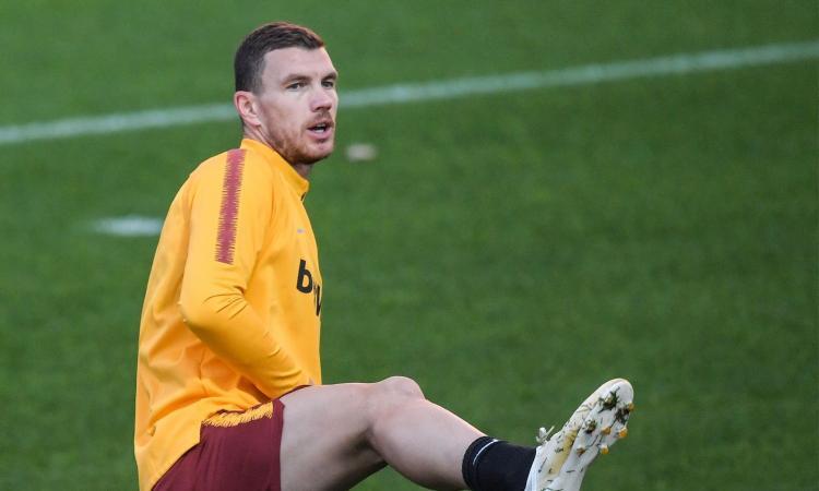 Roma: Dzeko ed El Shaarawy saltano le prossime 4 partite, Juve a rischio