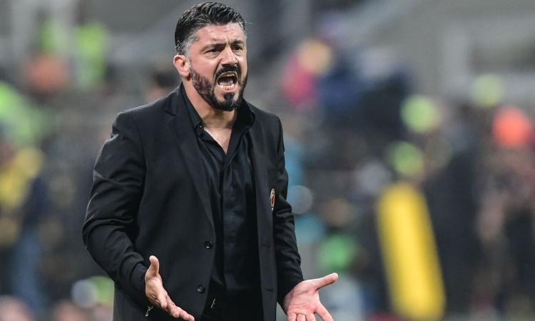 Gattuso respinge le critiche e le voci su Conte: Milan meglio di Inter e Roma