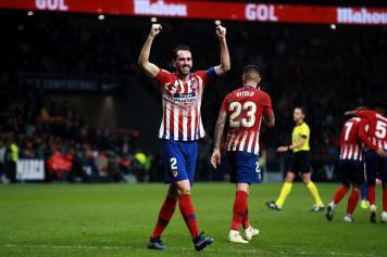 godin, atletico madrid, esulta, gol, 2018/19