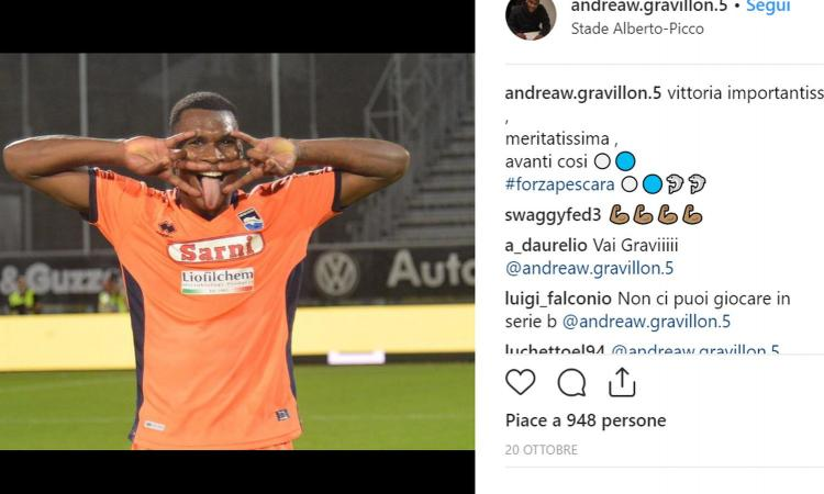 Damiani a CM: 'Gravillon, l'ideale è la A col Pescara. Inter? Discorso aperto...'