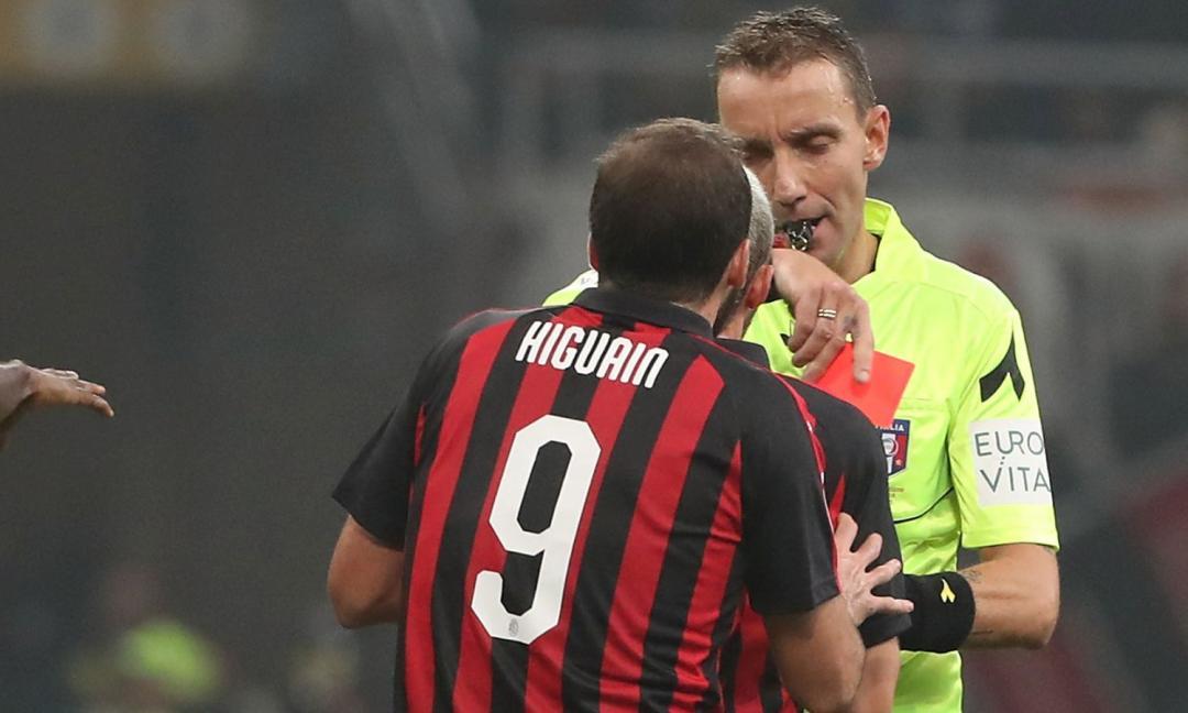 Milan con Higuain vs Juve senza Bonucci 0 - 2