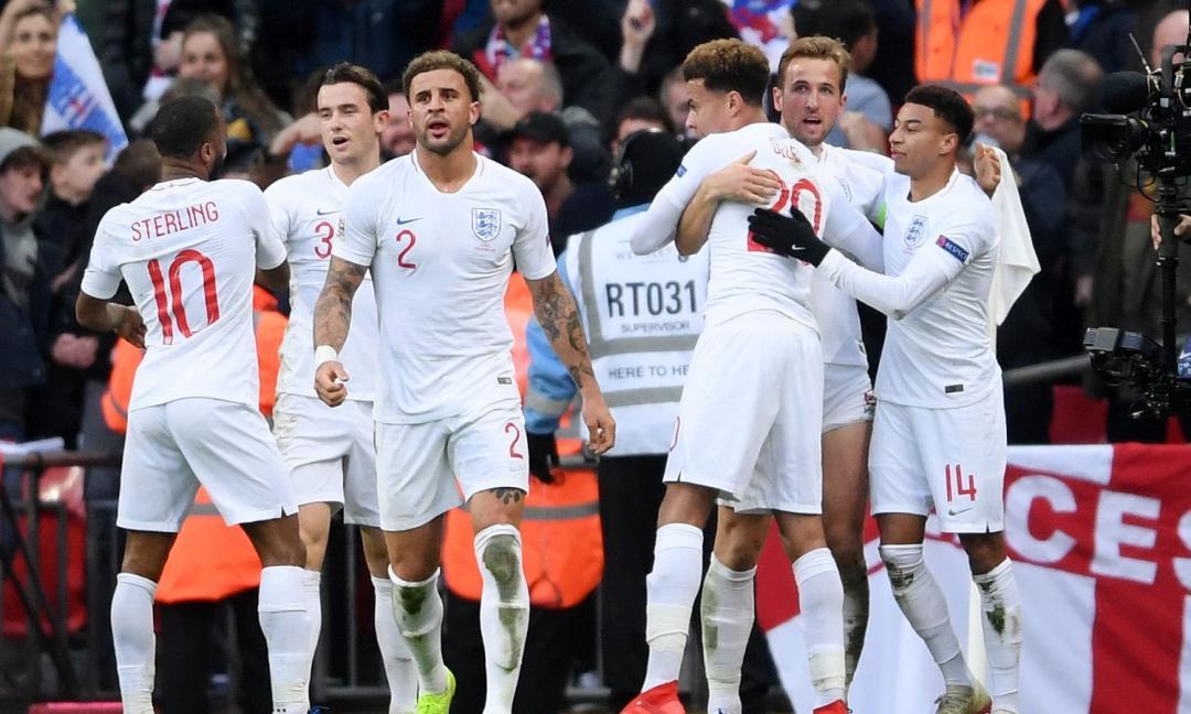Sarà l'Inghilterra la Nazionale da battere