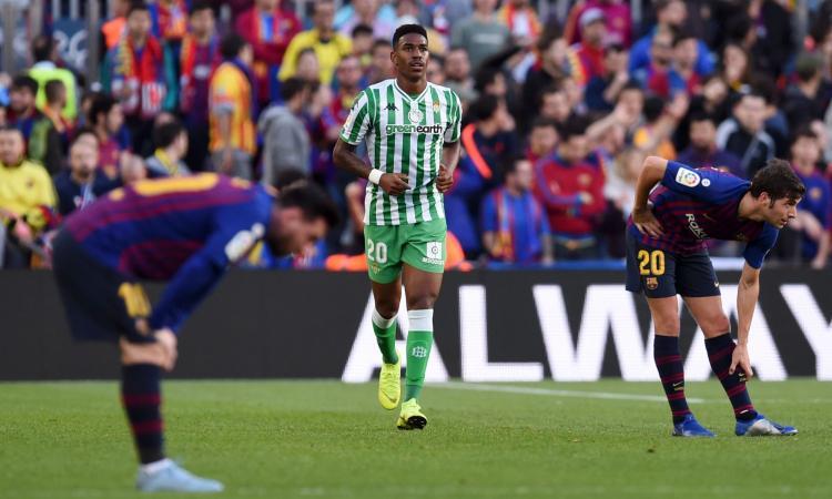 Barcellona, Junior Firpo si avvicina: cambiano le condizioni del Betis Siviglia