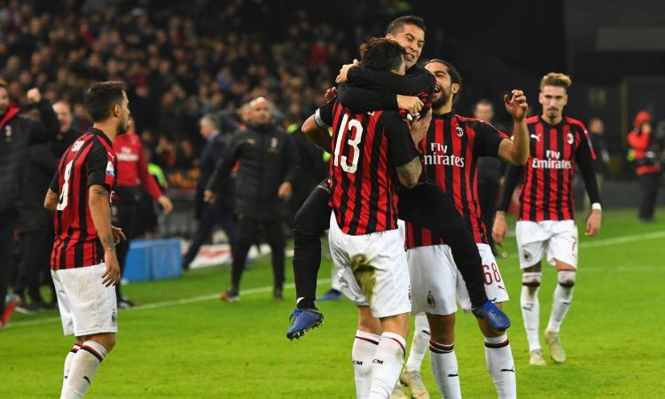 Ancora Romagnoli al 97': il Milan vince 1-0 a Udine e mantiene il quarto posto
