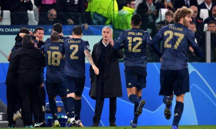 Champions, Mourinho provoca i bookmakers: la panchina della Juve si gioca a 50,00