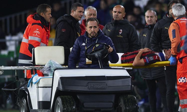 Milan, dalla paura per Musacchio all'allarme per Cutrone, Calhanoglu e Kessie: la situazione in vista della Juve
