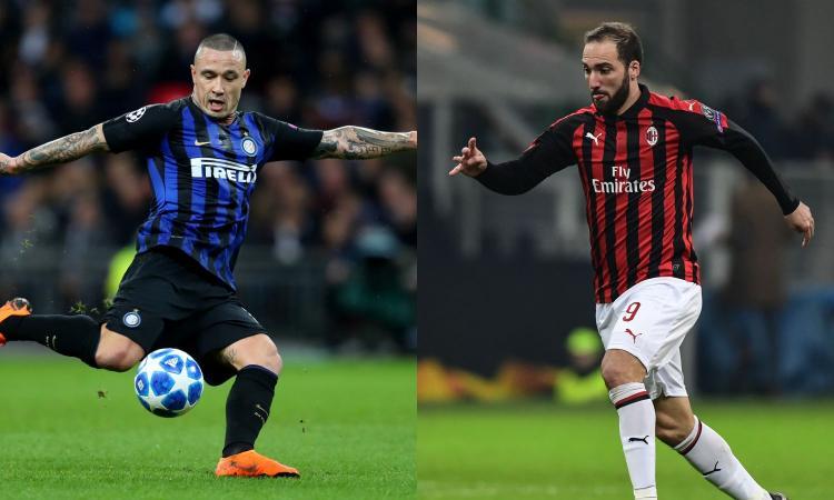 Nainggolan si è perso, Higuain 'snob': Inter e Milan, dove sono i vostri top?