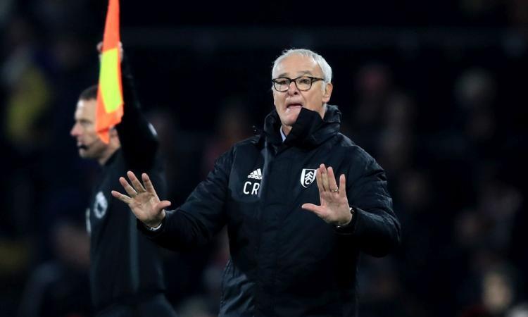 Fulham, Ranieri: 'A Old Trafford per fare punti, Mourinho un grande uomo e un amico'
