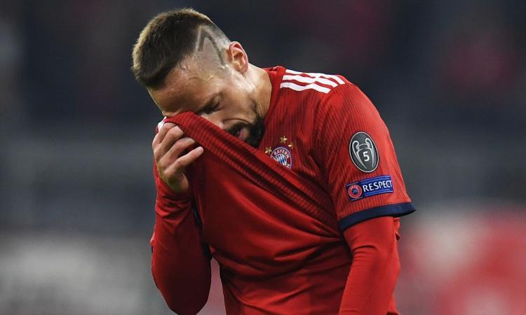 Bayern, Ribery: 'Nel 2010 mi volevano Juve, Inter e Milan'