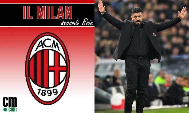 Bravo Gattuso: punto d'oro con la Lazio, così il Milan può andare in Champions