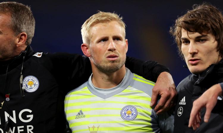 Schmeichel potrebbe lasciare il Leicester