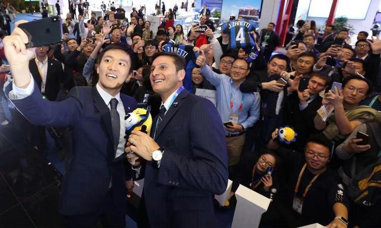 Intermania in Cina: Zhang incontra Jack Ma, il presidente di Alibaba