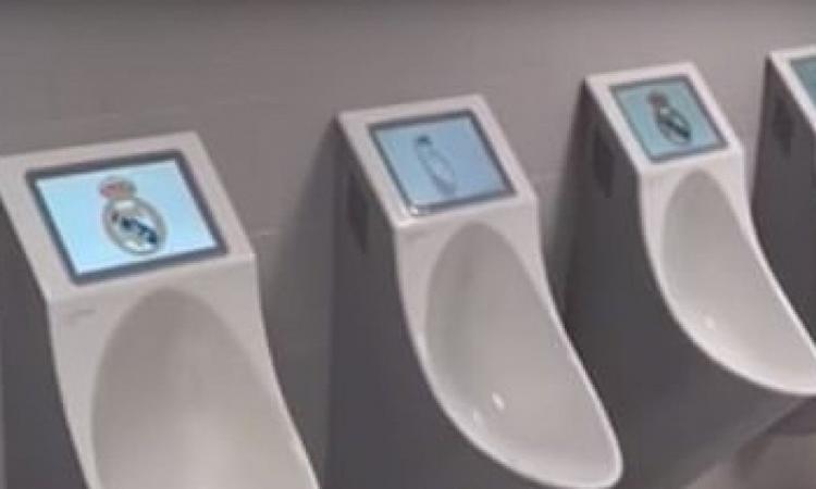 Dai tablet negli orinatoi del Real Madrid alla funivia di Gspon: ecco le stranezze più grandi degli stadi