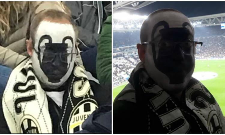 Juve, il tifoso Thomas diventa virale: 'Avevo la maschera anche con il Real, poi...'