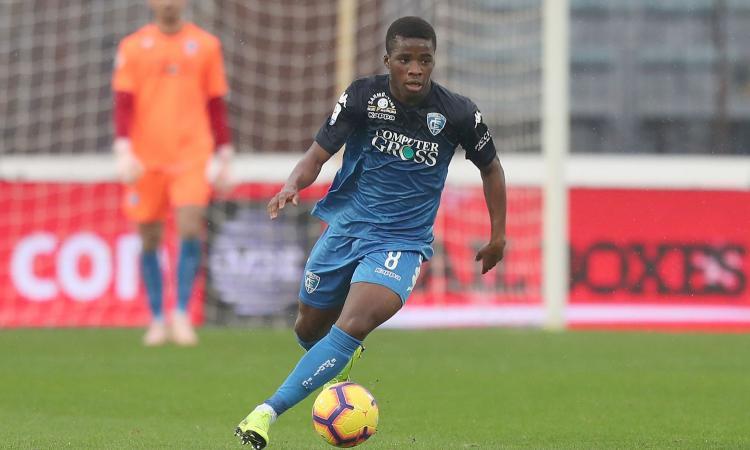 Roma, sfida a Samp e Juve per Traoré